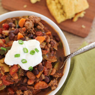 Chunky Turkey Chili
