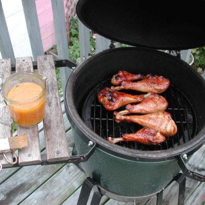 Smoked Turkey Honey Glaze