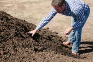 Jason Diestel, composting