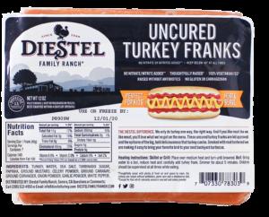 Uncured Turkey Franks