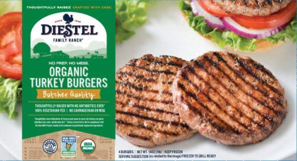 Organic Turkey Burgers