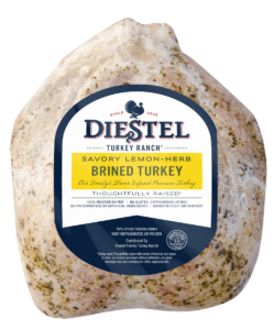 Brined Lemon-Herb Whole Turkey