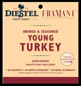 Brined & Seasoned Whole Turkey