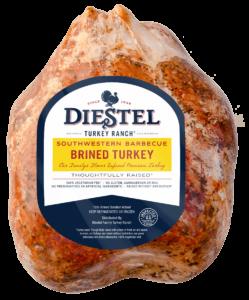 Brined Southwestern BBQ Whole Turkey