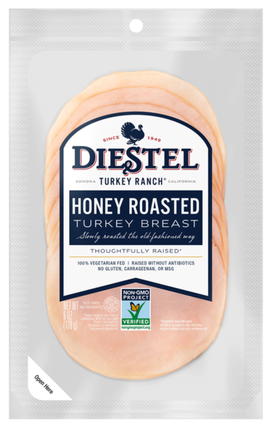 Deli_Pre-Sliced_TurkeyBreast_HoneyRoasted_NonGMO_Rendering