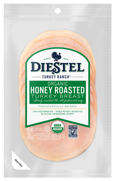 Deli_Pre-Sliced_TurkeyBreast_HoneyRoasted_Organic_Rendering