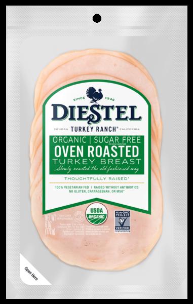 Deli_Pre-Sliced_TurkeyBreast_OvenRoasted_Organic_Rendering