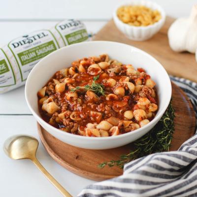 Italian Tomato Noodle Soup