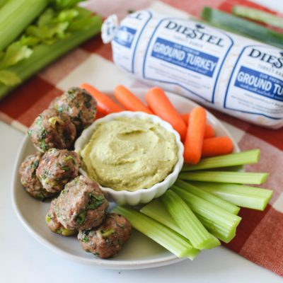 Turkey Spinach Poppers